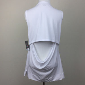Yummie by Heather Thompson White Muscle Tank Top m